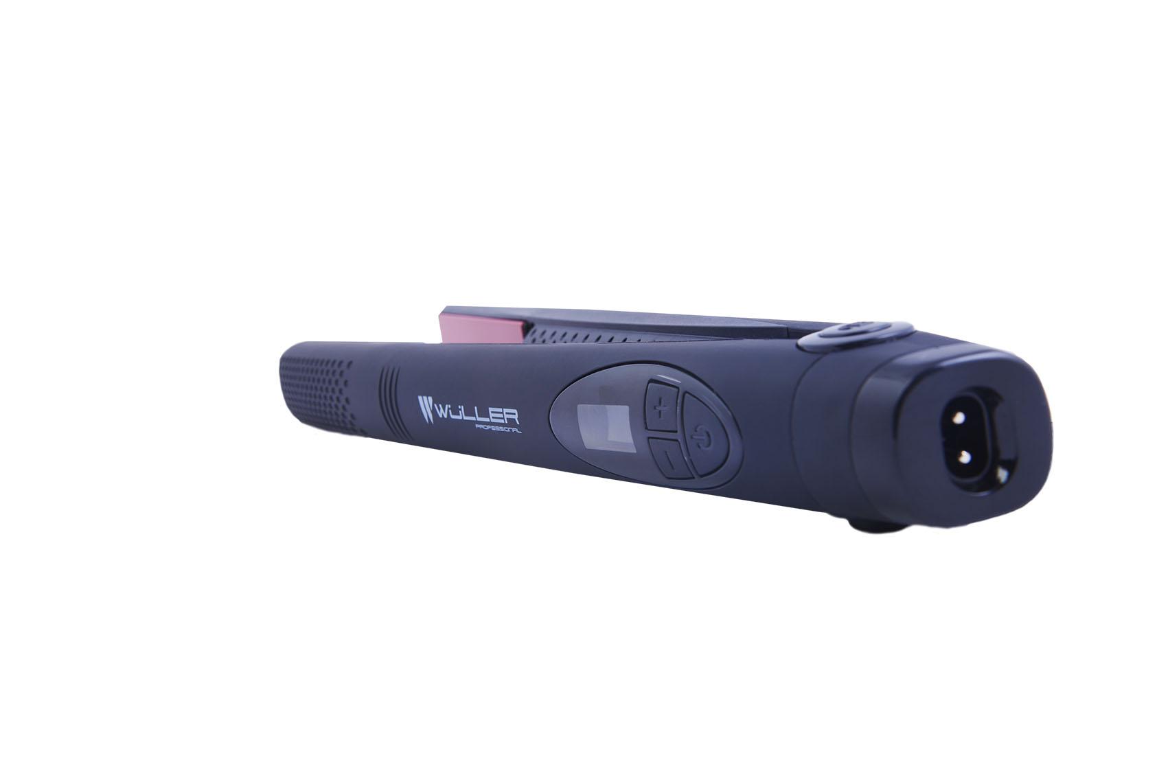 Профессиональные аккумуляторные щипцы для волос Wuller Büffel WV.211